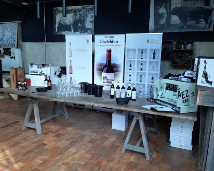 Wijndegustatie in La Vida in Aarsele | België